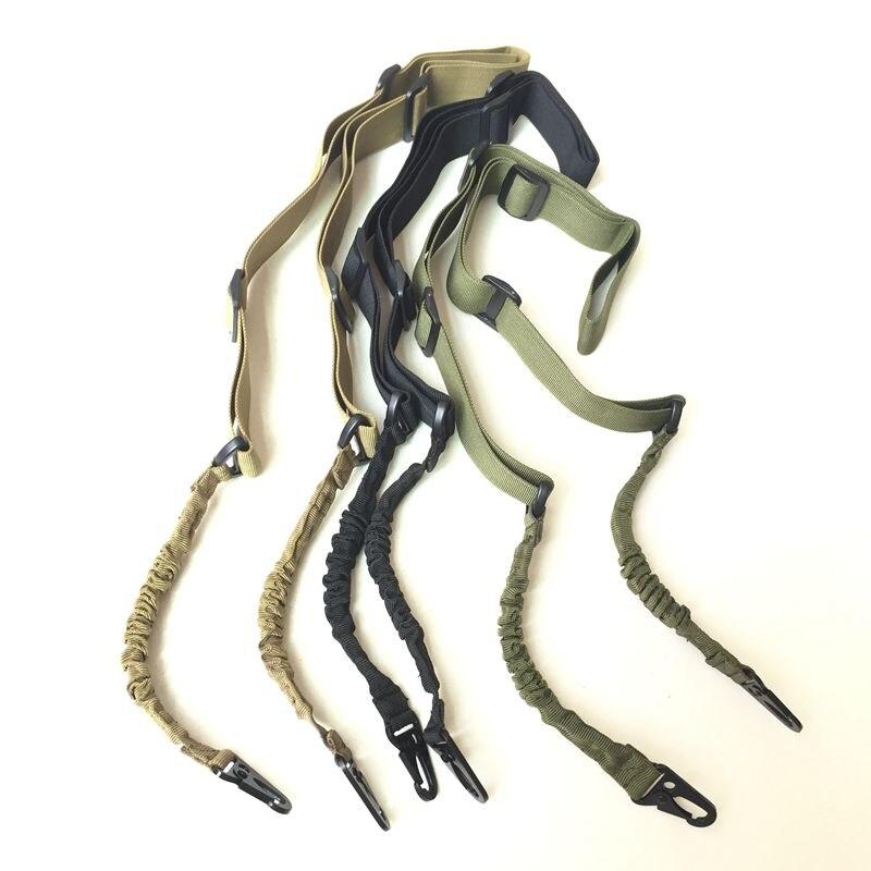 Airsoft-correa de nailon ajustable para Rifle, accesorio táctico para pistola de caza,...