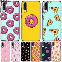 CUCI Frites Beignets Pizza BRICOLAGE Peint Bling Étui de Téléphone Pour Samsung A10 20 30 40 50 70 10S 20S 2 C8 A30S A50S A7 8 9