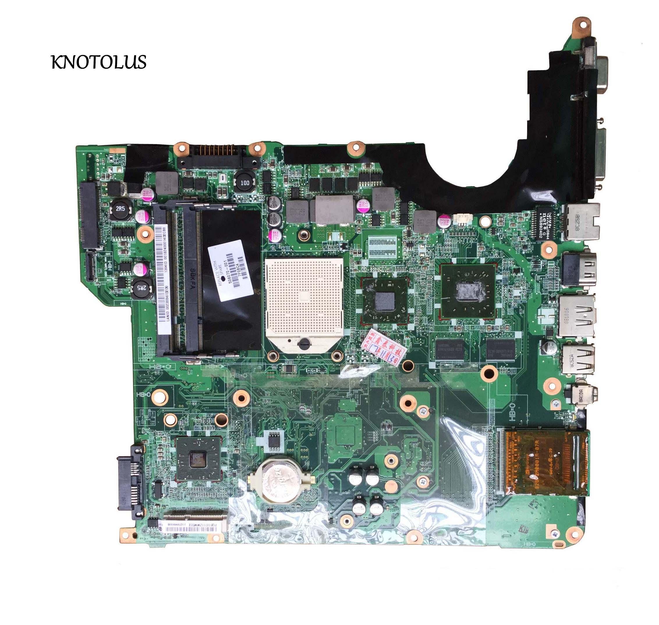 Placa madre de alta calidad 506070-001 para HP DV5 DV5-1000 placa madre de ordenador portátil probada