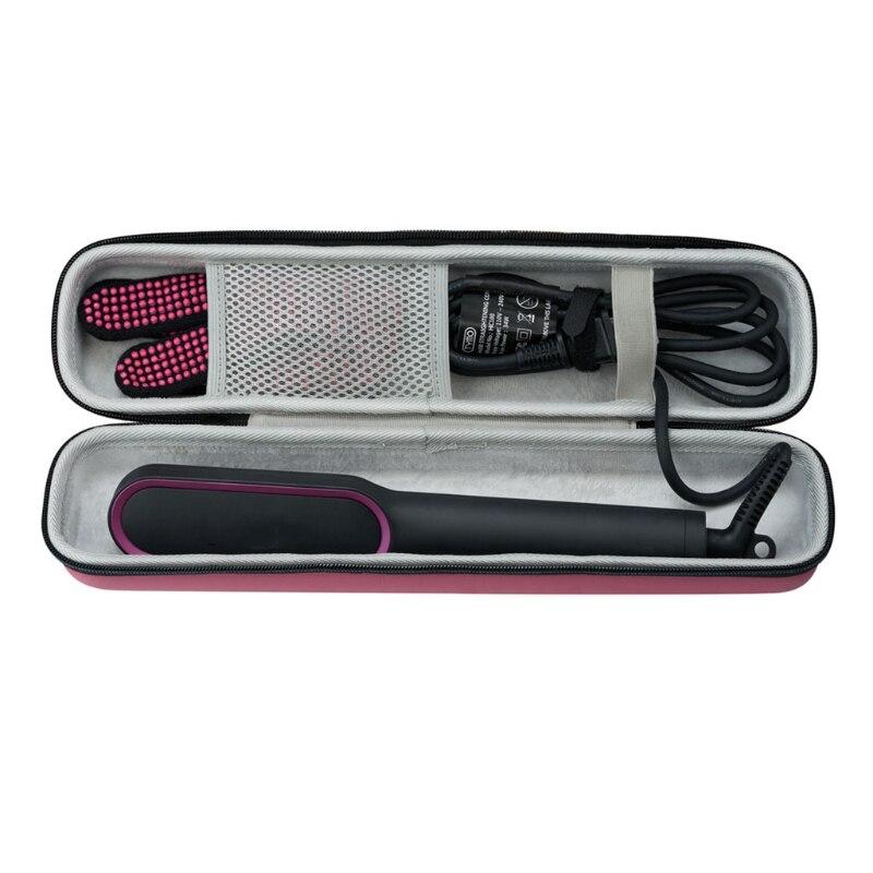 Llevar de viaje cubierta bolsa de almacenamiento portátil bolsa para TYMO alisador de pelo cepillo de alta calidad y nuevo