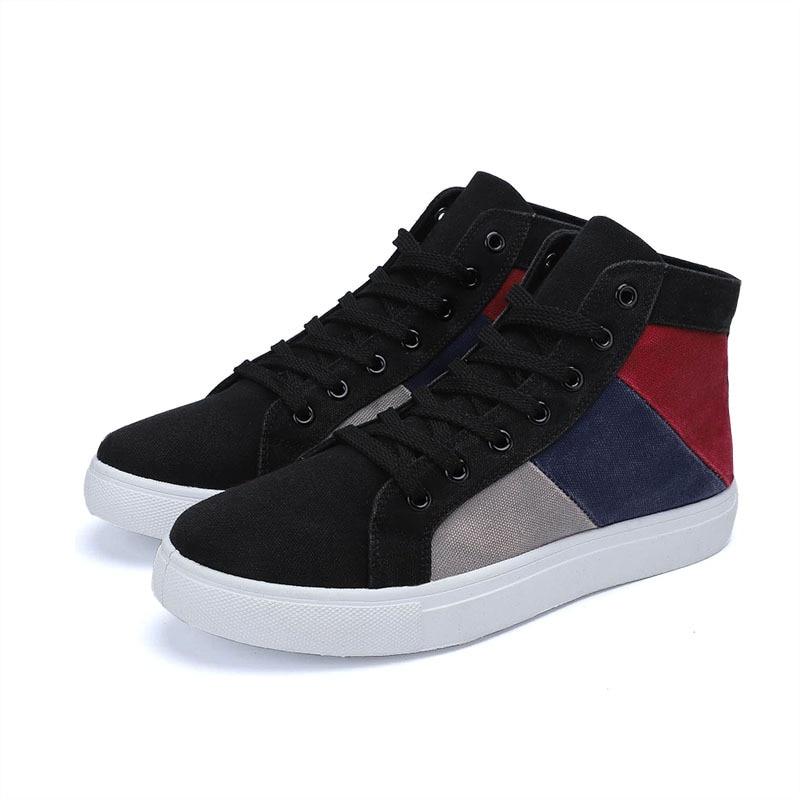 Zapatos De lona clásicos para Hombre, calzado resistente Al Desgaste De Colores...