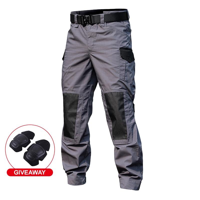 Брюки-карго мужские тактические, повседневные тренировочные штаны-карго в стиле милитари, Джоггеры для походов, брюки-карго