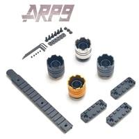arp9 gel blaster metal fire cap xyl ak 14mm metal fire cap direct installation cnc reinforced side rails and upper rail