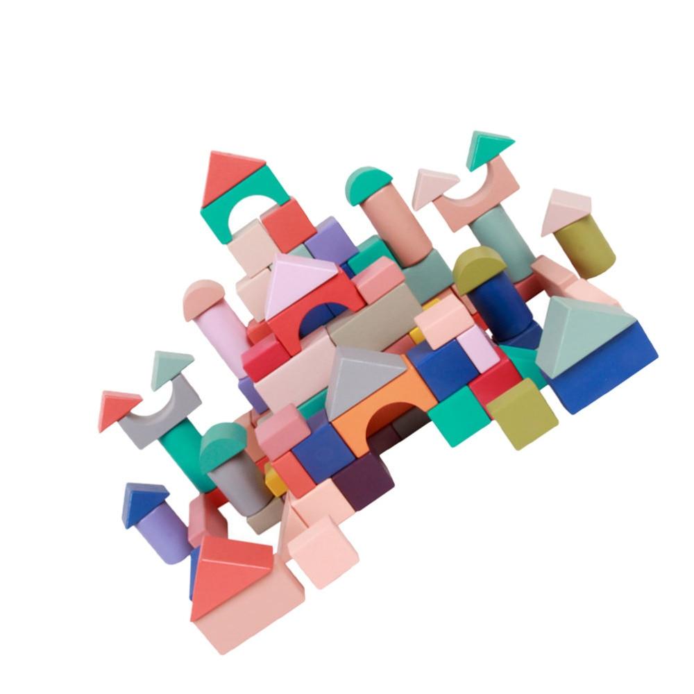1 комплект строительных блоков, строительные блоки, 3D головоломки, блоки, детские игрушки