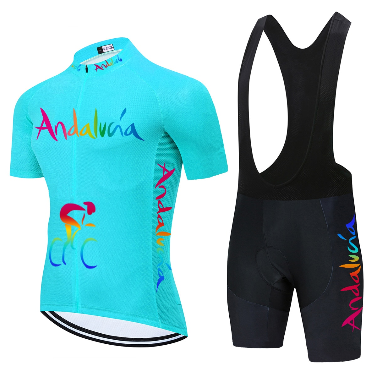 Andalucía Pro equipo Ciclismo Jersey 2021 Ropa MTB Ropa de Ciclismo Ropa...