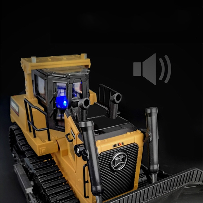 2021 Remote Control Truck 8CH RC Bulldozer Machine on Control Car Toys for Boys Hobby Engineering New Arrival Gifts enlarge