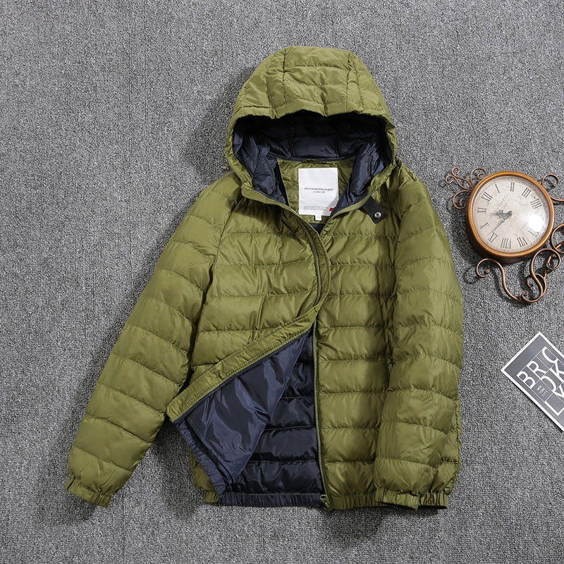 Jacket for boys 2021 Europe Russia Spring Autumn Thick Parker Coat Green coats with a hood height110-134CM 4A-8A S410
