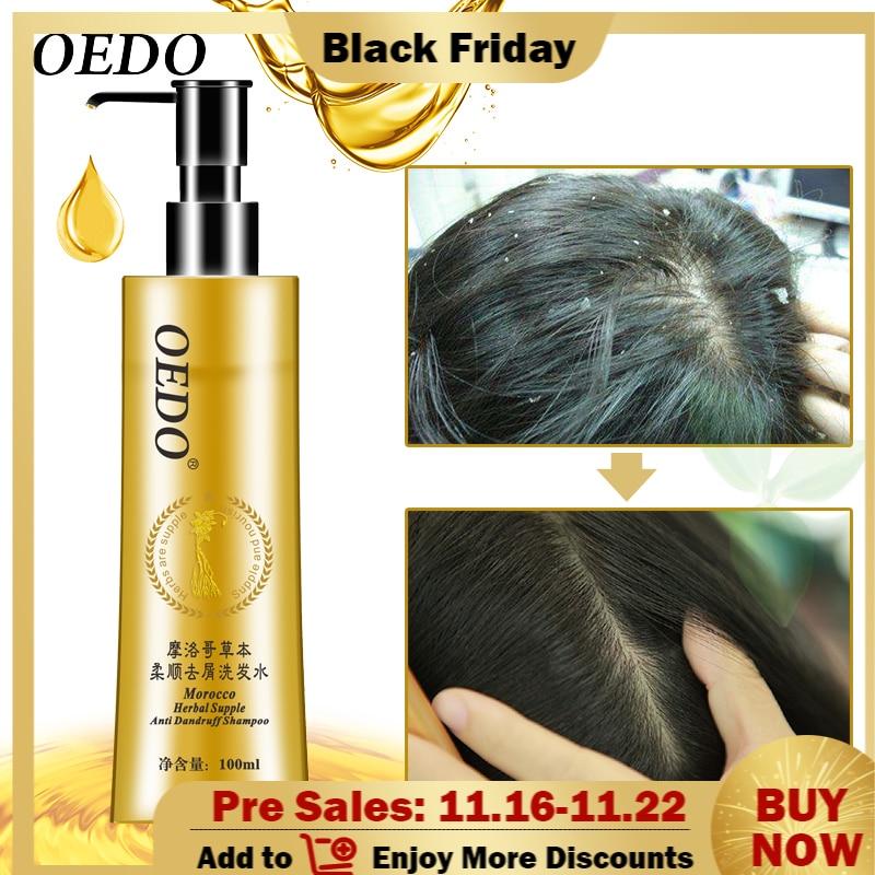 Champú anticaspa marroquí para el cuidado del cabello, Natural, suave, para reparación...