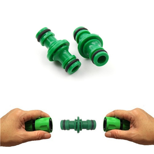 5 Pcs 1/2 Garden Hose Fittings Pipe Connector Quickly Wash Water Tube Connectors Joiner Repair Coupling