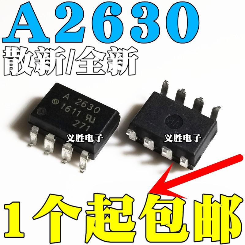 10 teile/los Neue original HCPL2630 HCPL-2630 A2630 patch SOP8 optokoppler