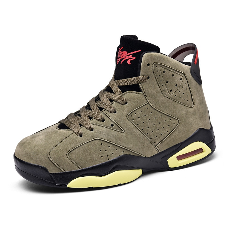 Spring New Thick-Soled Aj6 High-Top Basketball Shoes Joe 6 Boots Men And Women Sports And Leisure Sp