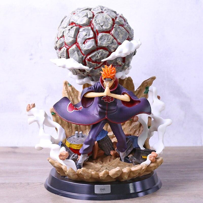 Naruto shippuden nagato deva path dor chibaku tenso estátua figura pvc 1/6 escala modelo de brinquedo