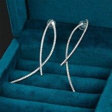 Pendientes de la serie de un solo pin, estilo simple y versátil, estilo isn, venta directa A los fabricantes de regalos de la novia