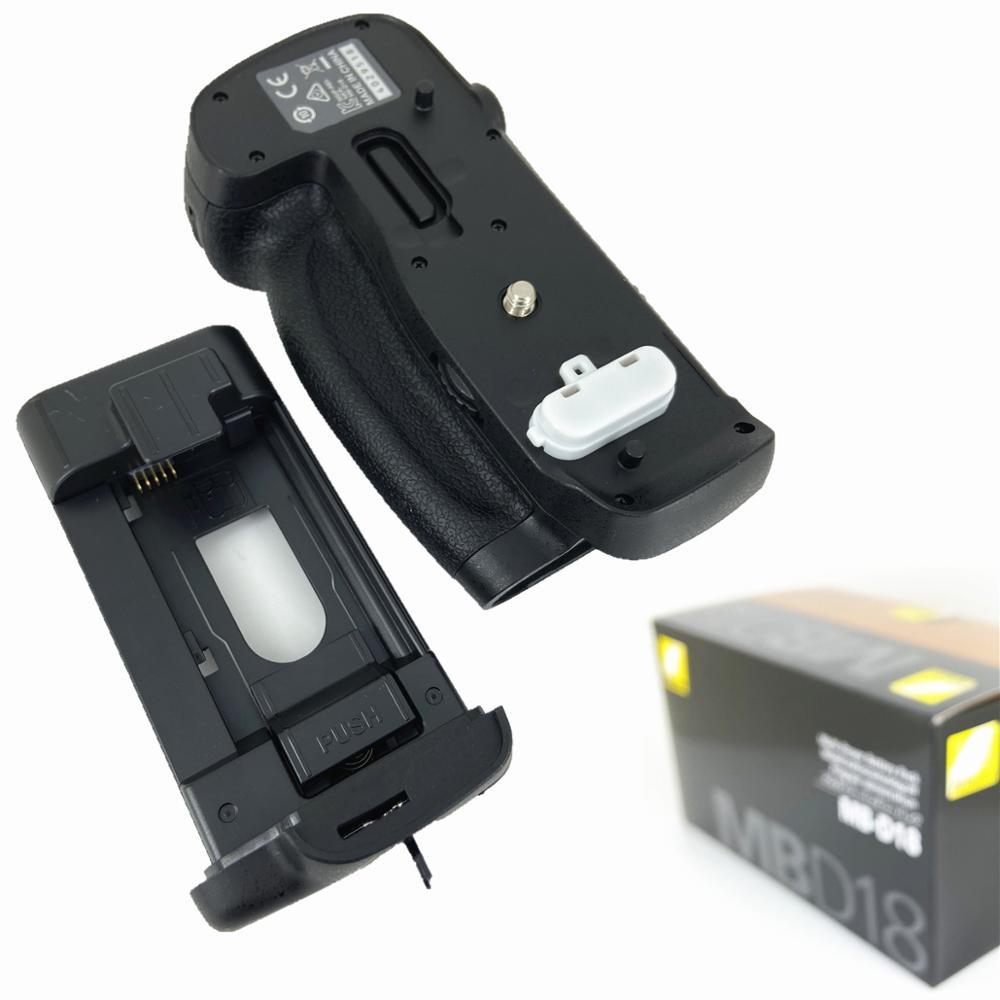 عمودي متعدد قبضة بطارية الطاقة حزمة لنيكون D850 D850A استبدال MB-D18 دعم EN-EL15 EN-EL15A 8 * AA