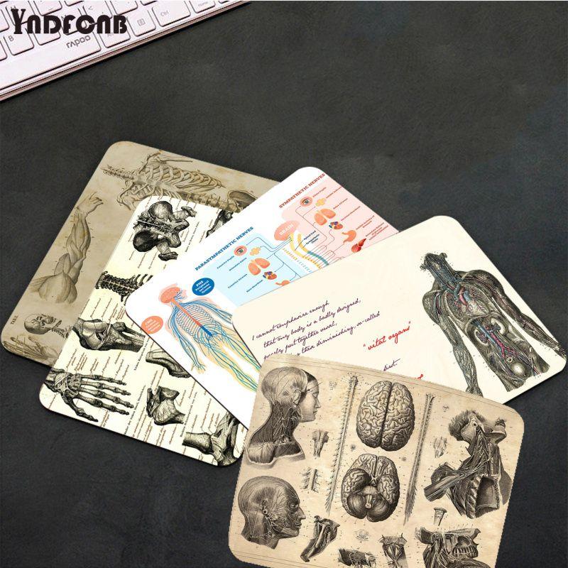 YNDFCNB аниме медицина Анатомия игровые коврики коврик для мыши для CS GO/LOL Гладкий коврик для письма настольные компьютеры мат игровой коврик д...