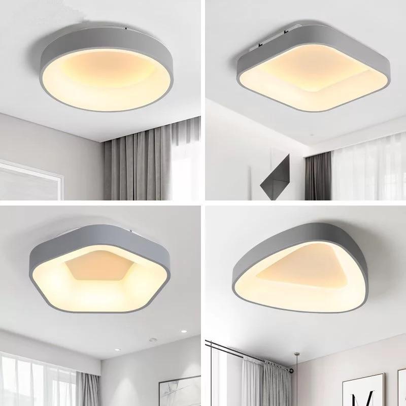 LED modern acrylic alloy round LED ceiling light. Triangle light. Ceiling lights. LED ceiling lights. Foyer ceiling light modern led ceiling light square