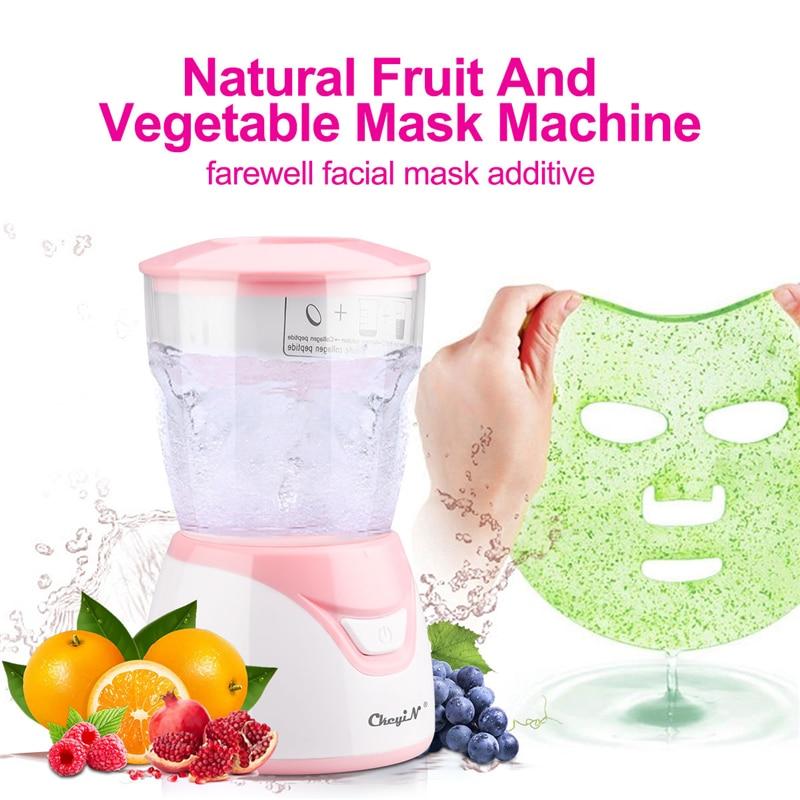 DIY Mask Mini Face Mask Maker Automatic Vegetable Natural Collagen Fruit Face Mask Machine Skin Care Home Makeup Beauty Tool