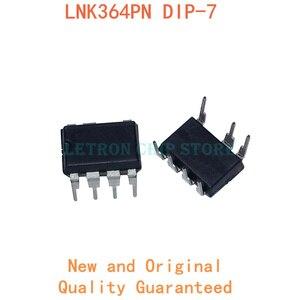 10PCS LNK364PN DIP7 LNK364P LNK364 DIP-7 DIP new and original IC Chipset