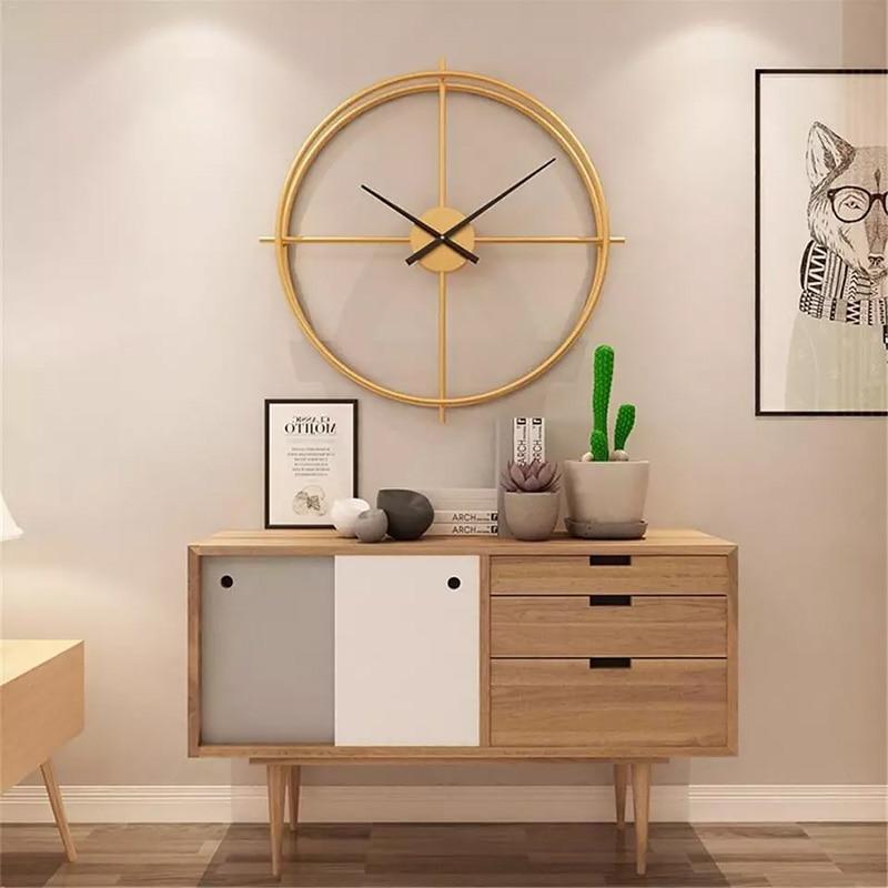 3d grande relógio de parede design moderno decoração para casa na parede na cozinha decorações sala estar nórdico silencioso horas nixie