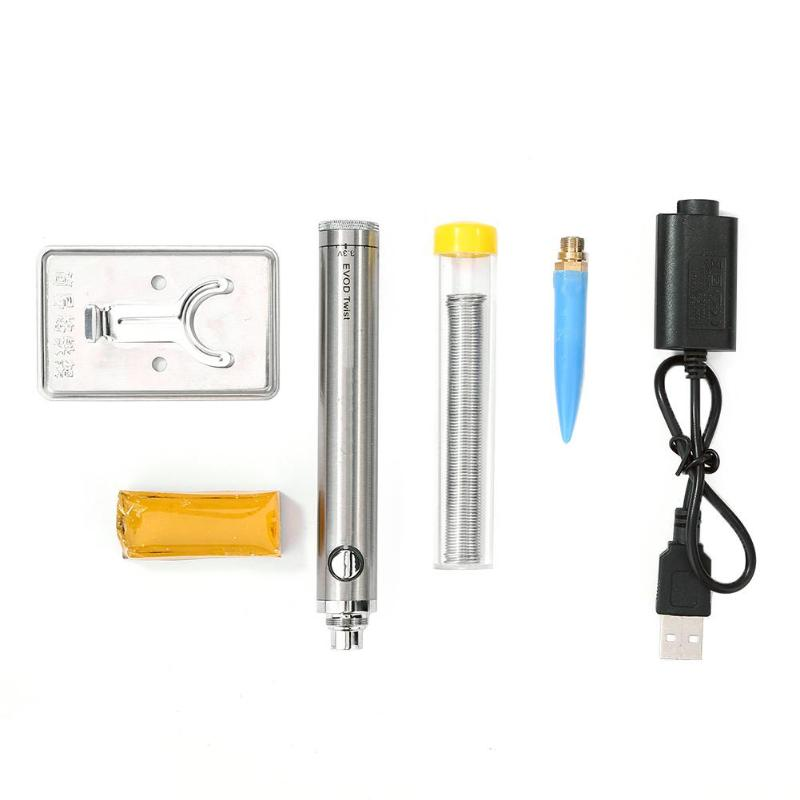 5 v 8 w ferro de solda sem fio ferro de solda de carregamento conjunto de ferramentas de solda usb suporte dropshipping