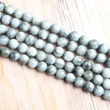 4/6/8/10/12mm pierre naturelle perles en vrac mat lave aigle oeil pierre perles rondes pour bijoux à bricoler soi-même Bracelet collier faire
