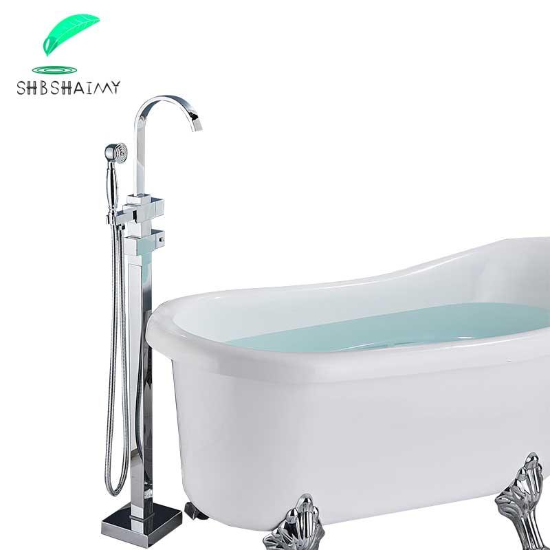 SHBSHAIMY-صنبور حمام من النيكل المصقول ، خلاط بمقبض مزدوج ، صنابير ثرموستاتي ، نظام دش الحمام