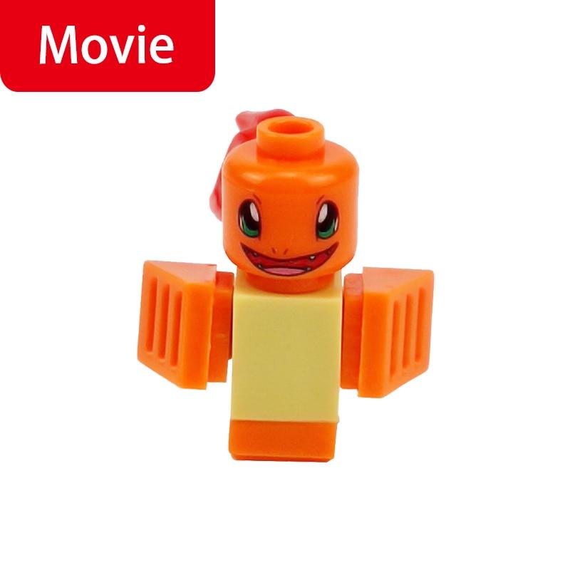 Cartoon Movie Tortois Model Orange Toys For Children Building Blocks Toy Friends Figures Animals Movies Kids Gifts Animal Figure
