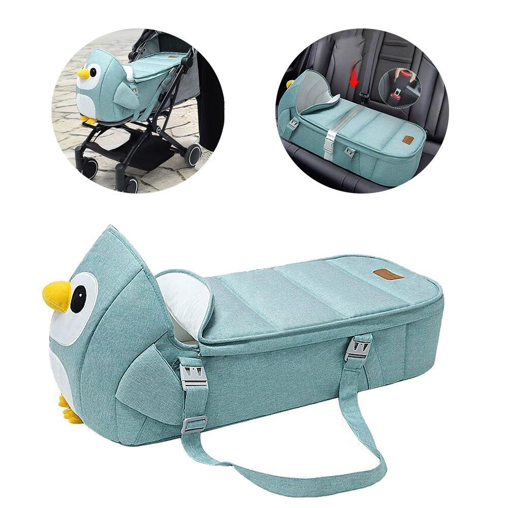 Детское гнездо, спальная кровать, корзина для новорожденных, детская коляска и автомобиль, портативная антистрессовая корзина для сна