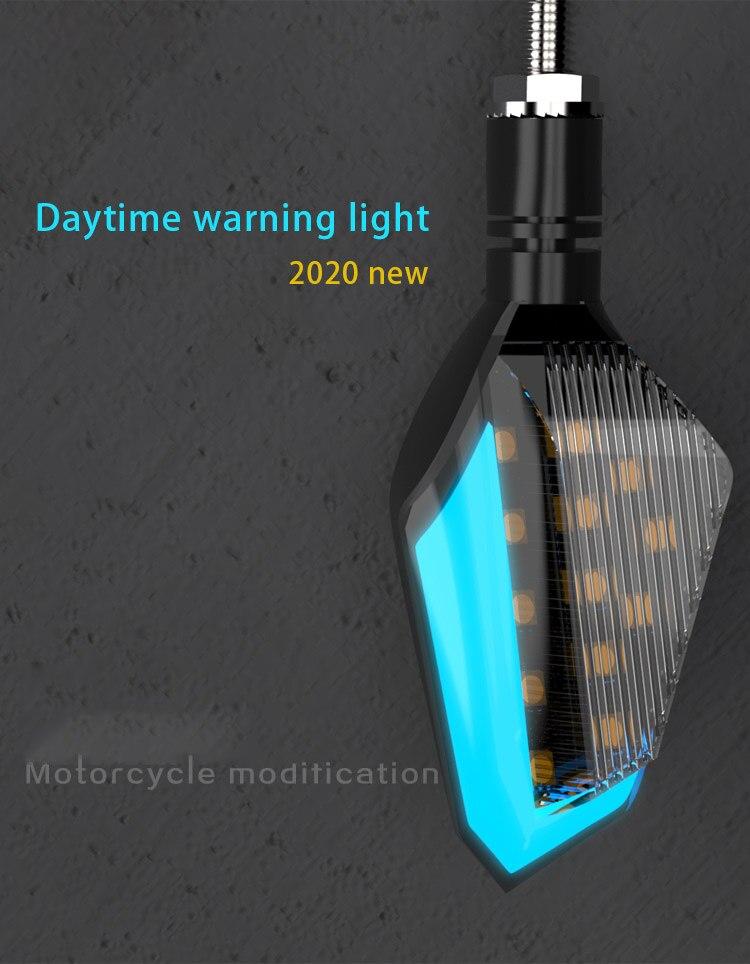 12V Индикатор сигнала поворота мотоцикла светильник для kawasaki kxf450 w650 крыло w800 er5 er6f er6n j300 kle500 klr 600