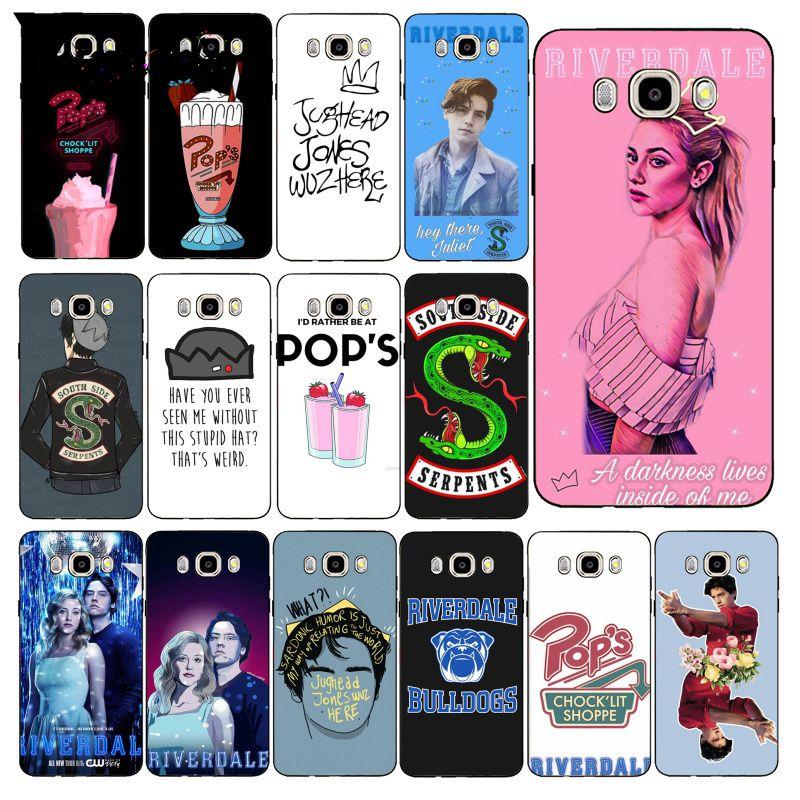 Yinuoda TV americana Riverdale Jughead caso de teléfono para Samsung Galaxy J7 J6 J8 J4 J4Plus J7 DUO J7NEO J2 J5 primer
