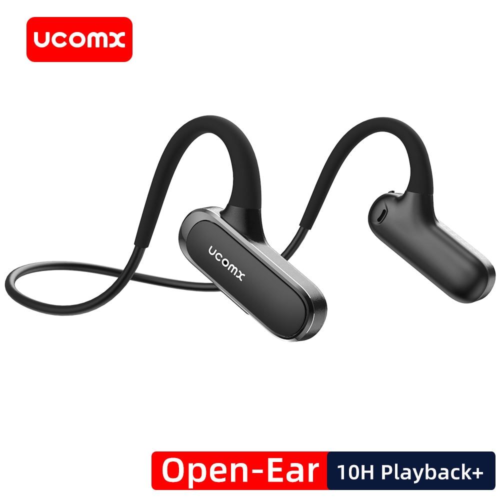 UCOMX G56-سماعة رأس بلوتوث لاسلكية ، سماعة رأس رياضية مفتوحة الأذن مع تشغيل 10 ساعات لأجهزة iPhone و Samsung و Xiaomi