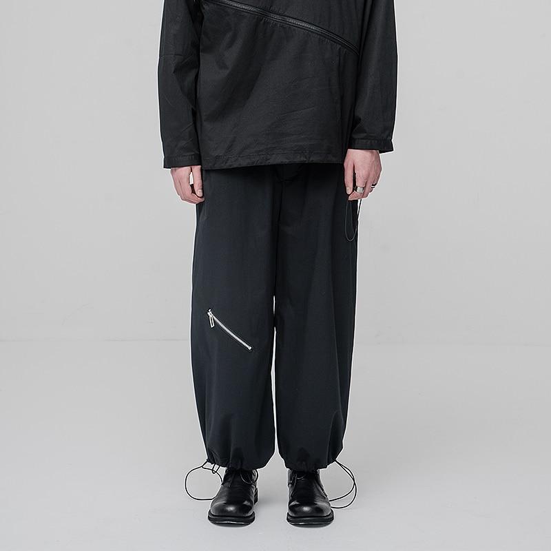 [HUANXIANGZHE] 2020 Casual Trousers Sweatpants Joggers Men Pants Japanese Streetwear