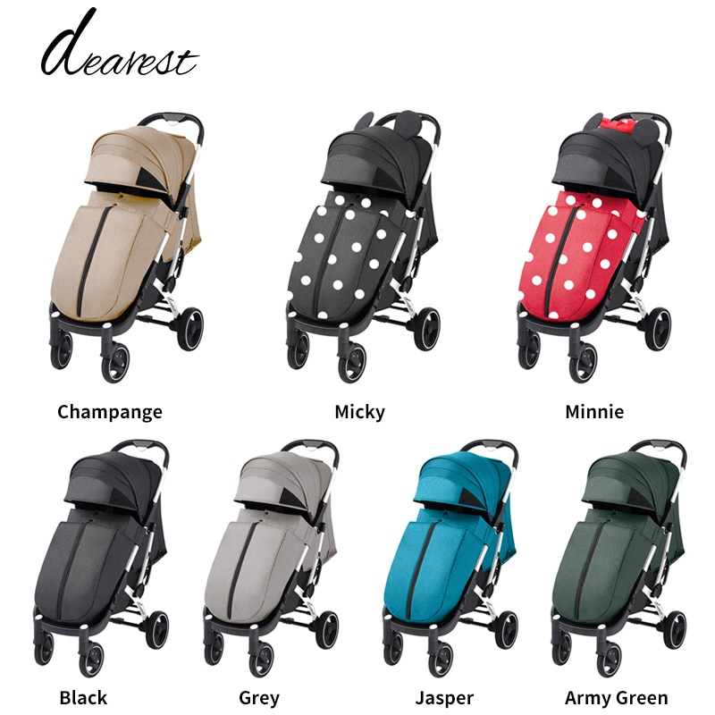 Stroller Dearest 718 Is Suitable For Children Aged 0-3, Suitable For All Seasons, Free Shipping In Russia enlarge