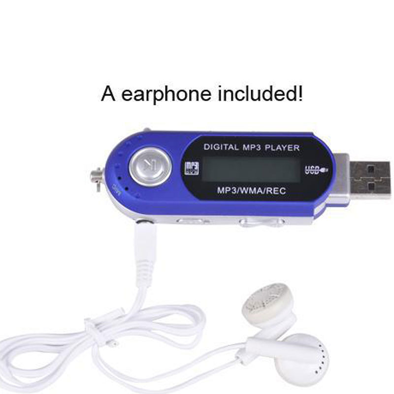 Mini MP3 Player LCD Display With USB High Definition Music 4GB RAM MP3 Player Support FM Radio With