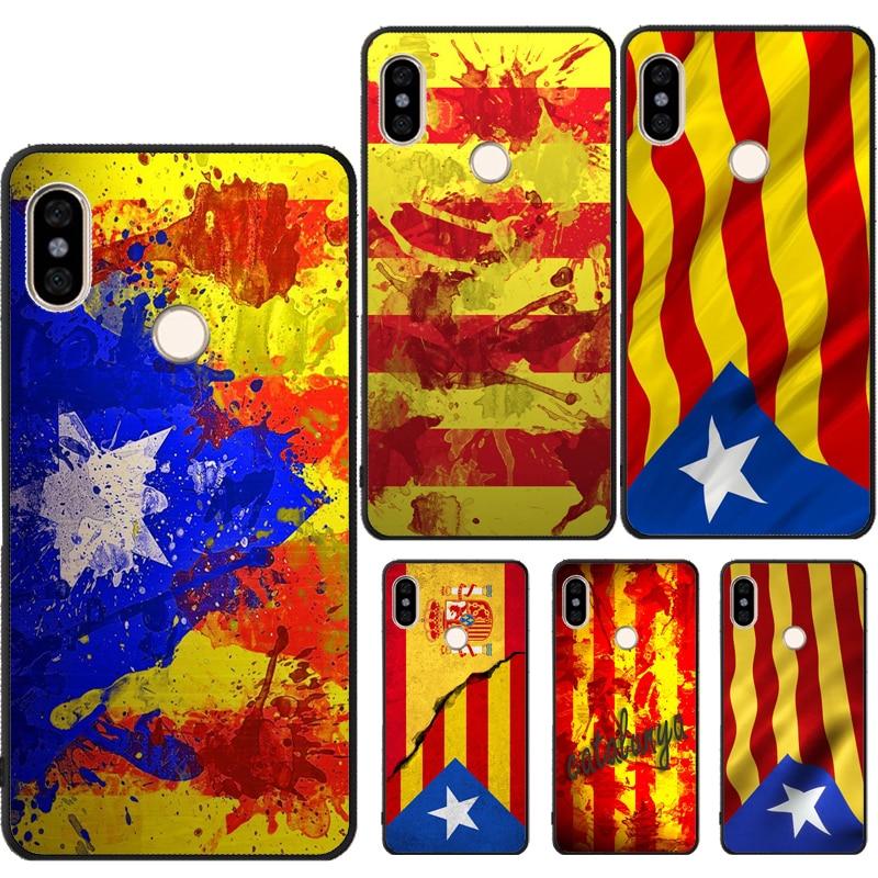 Catalunya flag Catalonia Case For Xiaomi Redmi Note 7 8 9 Pro K30 8T 9S 7A 8A Mi 10 9T Pro 9 Mi A3 Note10 Mix3 Max3