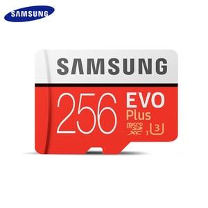 Оригинал, SAMSUNG, класс EVO Plus Class 10 карты памяти 256 ГБ 128 U3 64 Гб U1 карта Micro SD до 100 МБ/с. TF карта памяти SDXC с флеш-карта