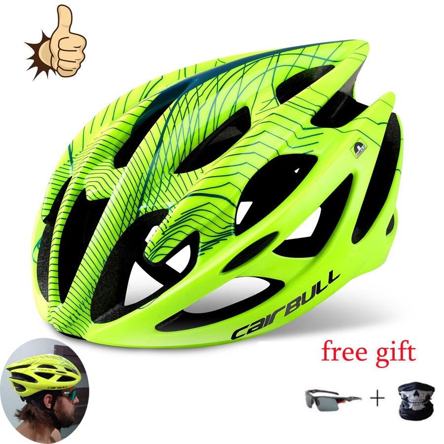 Cairbull-casco ultraligero para bicicleta de montaña, Dh, para todo terreno, para deportes