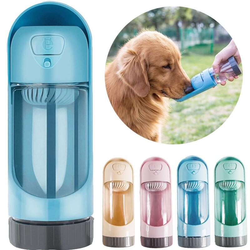 Tragbare Haustier Hund Wasser Flasche für Kleine Große Hunde Haustier Produkt Reise Puppy Trinken Schüssel Außen Haustier Wasser Dispenser Hund feeder