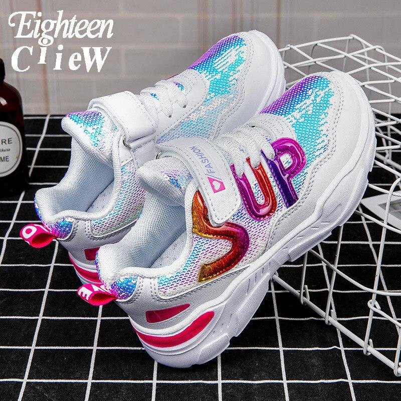 Size 26-37 Children's Footwear Sneakers Kids Lightweight Shoes Sport Shoes for Girls Soft Bottom Sne