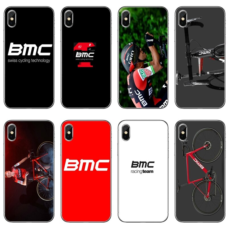 Bmc corrida de ciclismo da bicicleta equipe logotipo caso telefone para xiao mi 9 9t cc9 cc9e 8 se pro a2 lite 6x a3 a1 max 2 3 nota 2 3 capa macia