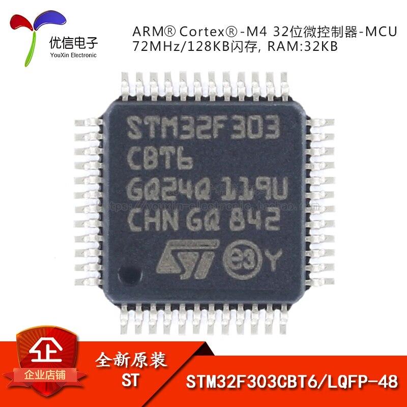 STM32F303CBT6 LQFP-48 ARM Cortex-M4 32-MCU