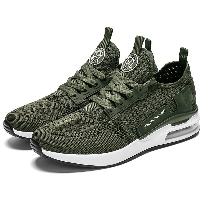 Воздухопроницаемая спортивная обувь для бега, мужская спортивная обувь, женские мужские кроссовки, мужские кроссовки для бега, Мужская тре...