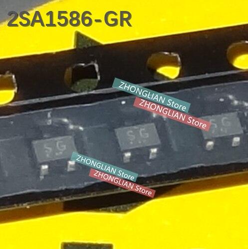 100 pcs/Lot 2SA1586-GR 2SA1586-Y 2SA1586 nouveau original
