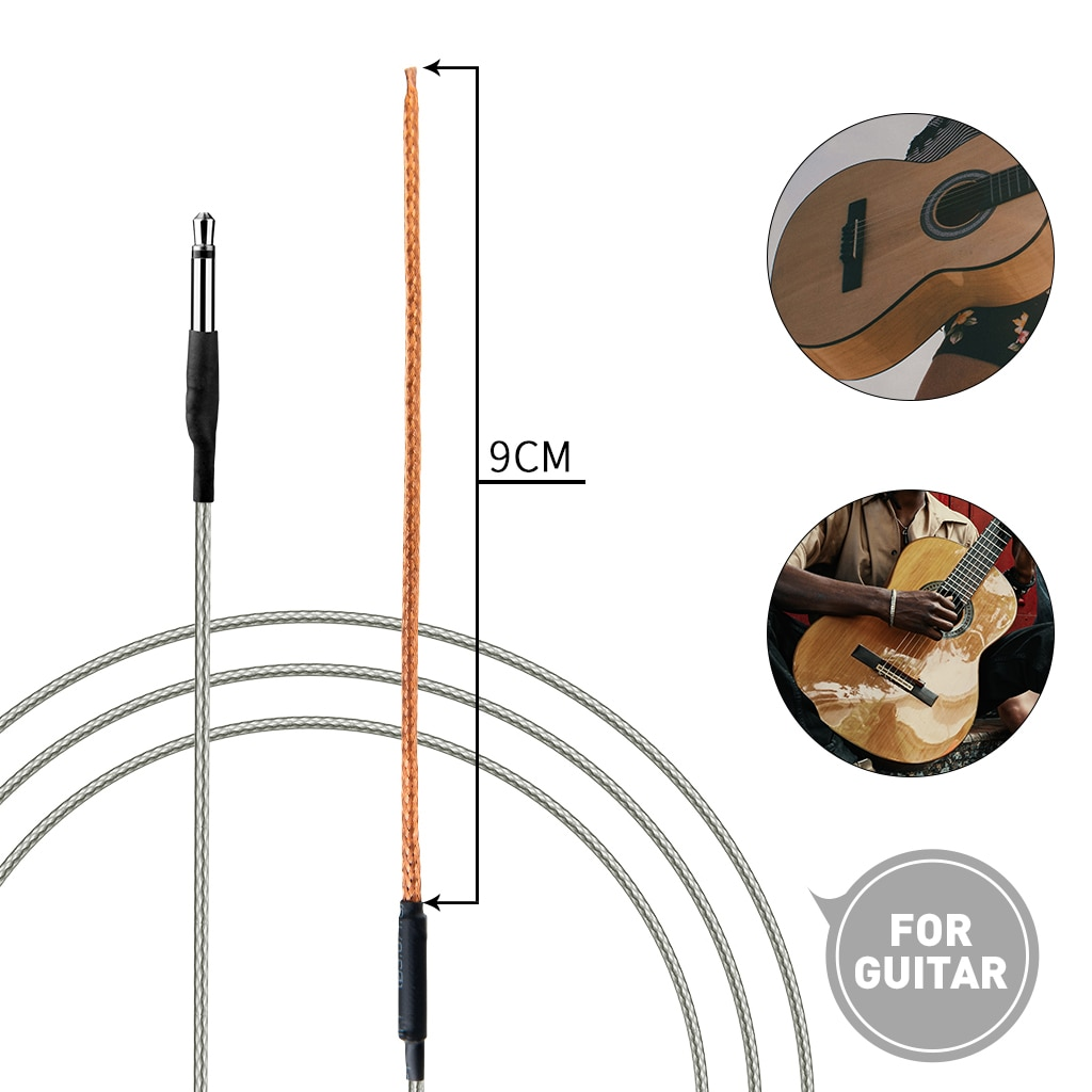 10 قطعة الغيتار السرج بيزو جسر لاقط لينة فيشمان الغيتار الصوتية السرج بيزو جسر بيك أب