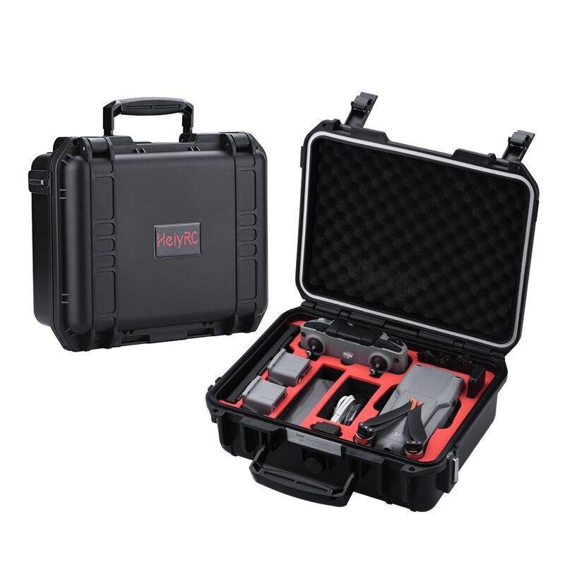مقاوم للماء حقيبة حمل صلبة متوافقة ل DJI Mavic الهواء 2 الهواء 2S ملحقات طائرة بدون طيار