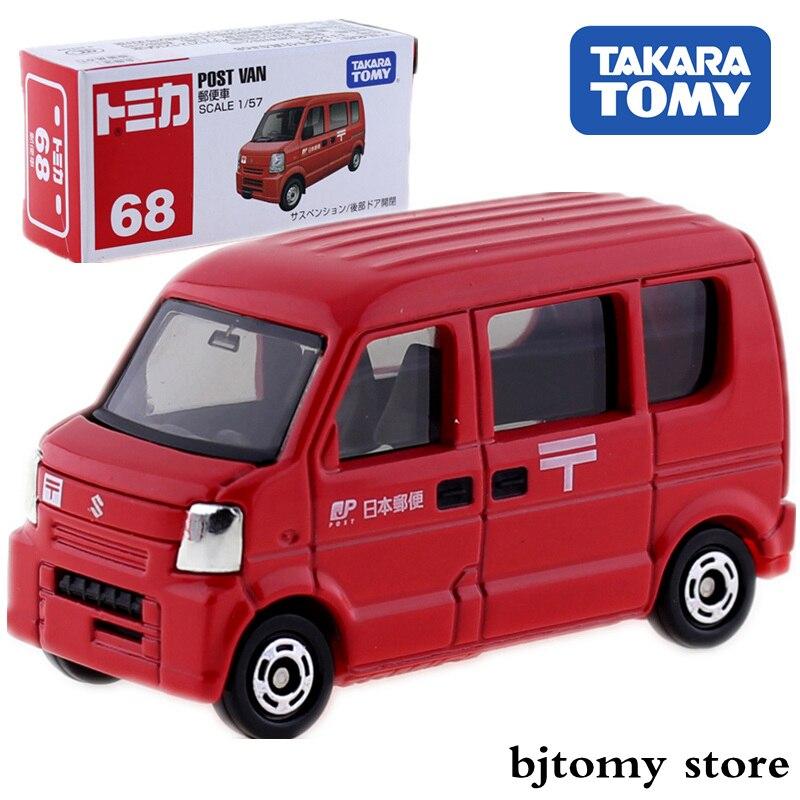 TAKARA Tomy TOMICA 68 SUZUKI Post VAN Model DIECAST Car Kit Hot Pop Miniature Kids Toys Funny Baby Dolls Magic Bauble