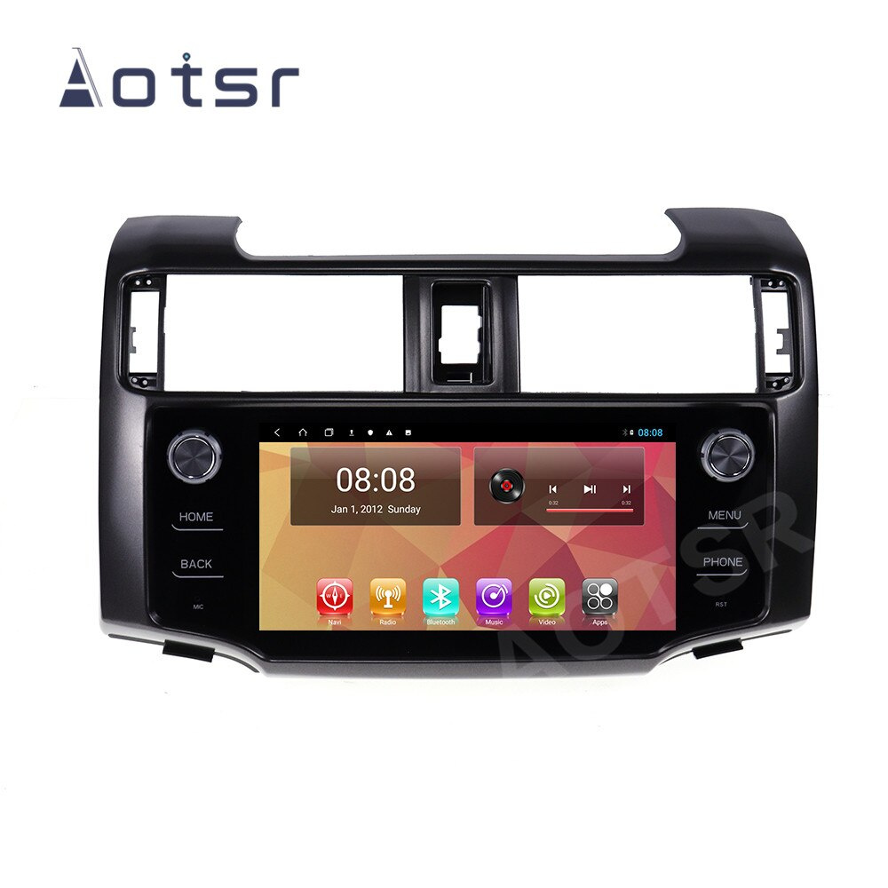 128GB لتويوتا 4 عداء أندرويد 10 مشغل أسطوانات للسيارة لاعب السيارات لتحديد المواقع الملاحة مشغل وسائط متعددة ستيريو رئيس وحدة راديو مسجل شرائط