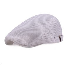 2020 new mesh breathable beret men women fashion casual beret spring summer models breathable forward hat men's wild hats