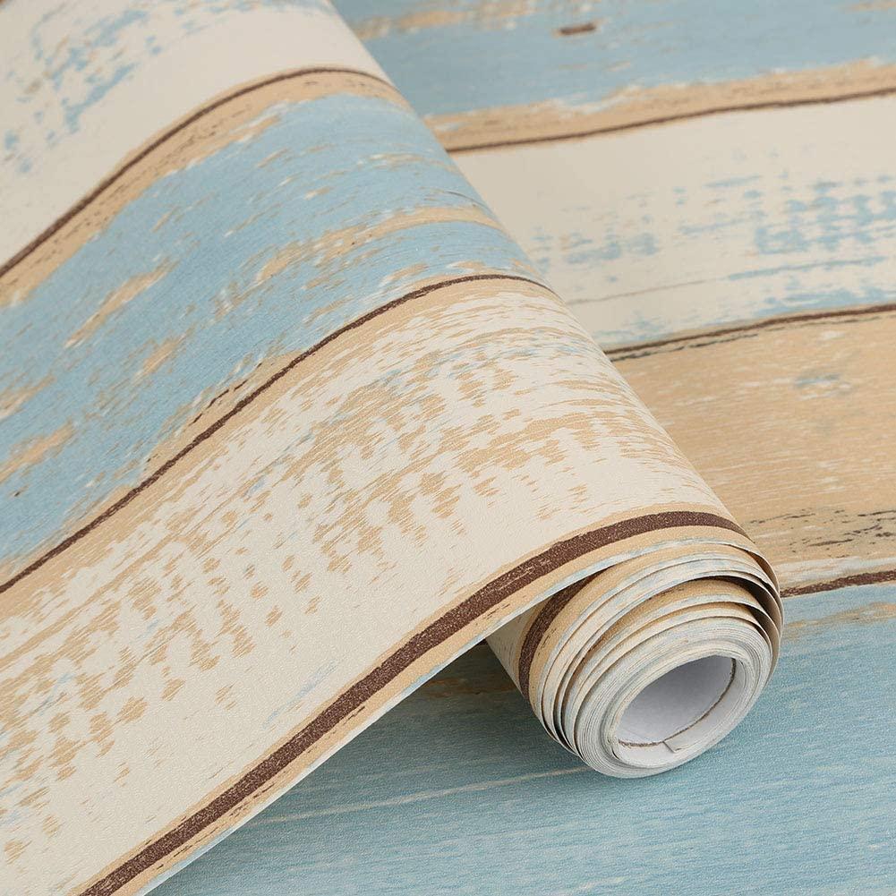 Водонепроницаемая самоклеящаяся настенная бумага, ПВХ Виниловая контактная бумага, деревянная настенная бумага для магнитных наклеек для ...