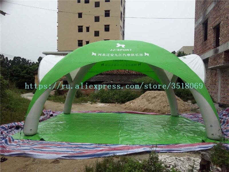 6/5 mpvc محكم للنفخ خيمة في الهواء الطلق الإعلان حملة خيمة PVC نفخ المظلة للبيع